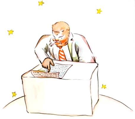 le businessman de la planète 328 - le petit prince